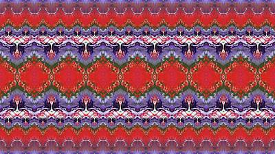 Colorful Photograph - Folk Pattern by Julia Fine Art And Photography