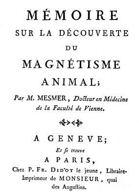 Franz Mesmer (1734-1815) Art Print by Granger
