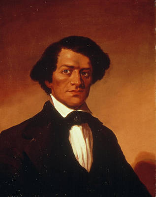 Abolition Painting - Frederick Douglass (c1817-1895) by Granger