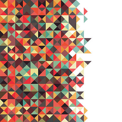 Repeat Digital Art - Geometric Art by Mike Taylor