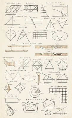 Pentagram Photograph - Geometrical Constructions And Principles by David Parker