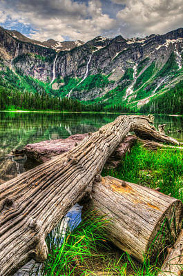 Kim Fearheiley Photography Royalty Free Images - Glacier National Park Royalty-Free Image by Brandon Smith