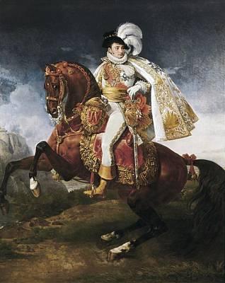 Gros, Antoine Jean, Baron 1771-1835 Art Print