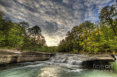 Ozark Photograph - Haw Creek Falls by Twenty Two North Photography