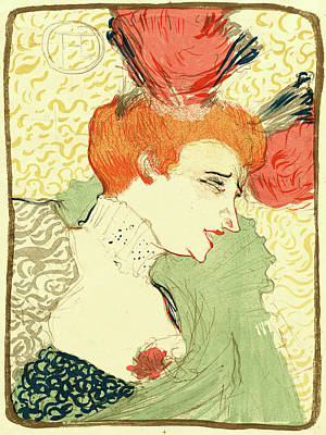 Lender Drawing - Henri De Toulouse-lautrec French, 1864 - 1901 by Litz Collection