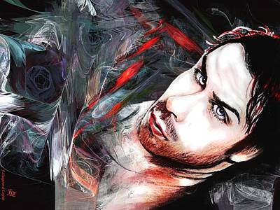 Colored Pencil Mixed Media - Ian by Francoise Dugourd-Caput
