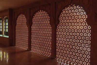 Jainism Wall Art - Photograph - India, Rajasthan, Jaisalmer by Alida Latham