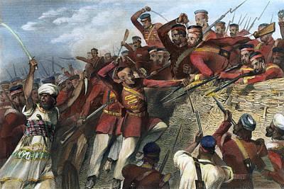 India Sepoy Mutiny, 1857 Art Print