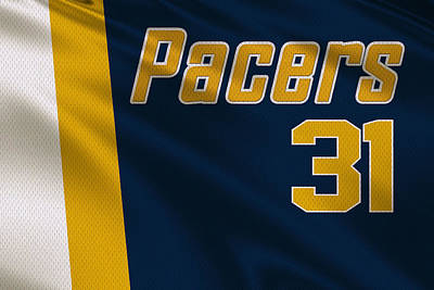 Indiana Pacers Uniform Art Print