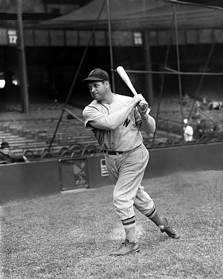 Red Sox Photograph - James E. Jimmie Foxx by Retro Images Archive