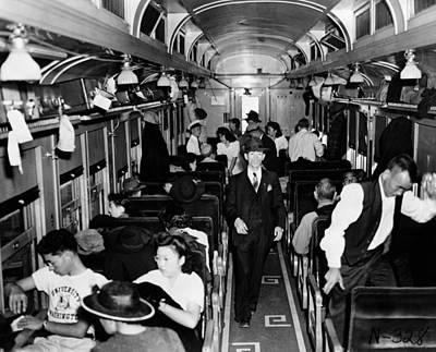 Discrimination Photograph - Japanese Internment, 1942 by Granger