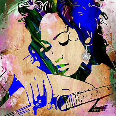 Jennifer Lopez Collection Art Print
