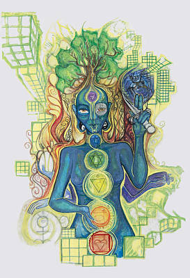 Vishuddha Drawing - 7 by Jessica McLellan
