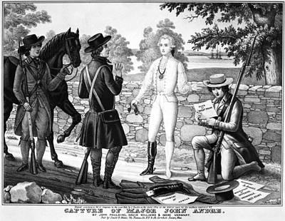 Redcoat Photograph - John Andre (1751-1780) by Granger