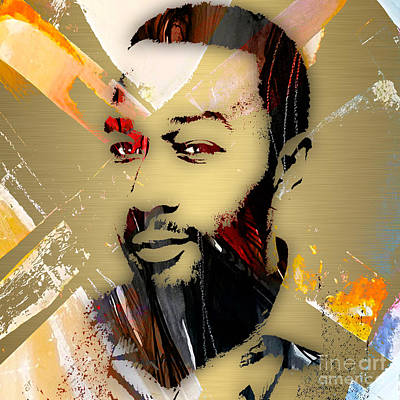 Legend Mixed Media - John Legend Collection by Marvin Blaine