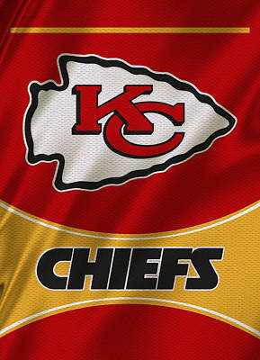Team Photograph - Kansas City Chiefs Uniform by Joe Hamilton