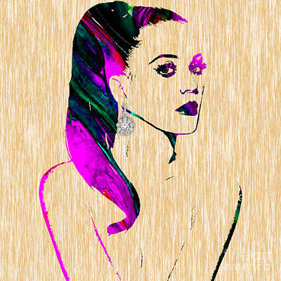 Katy Perry Collection Art Print