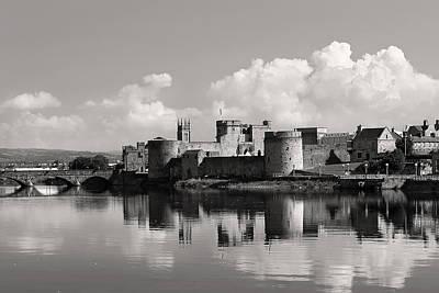 King John's Castle Limerick Ireland Art Print by Pierre Leclerc Photography