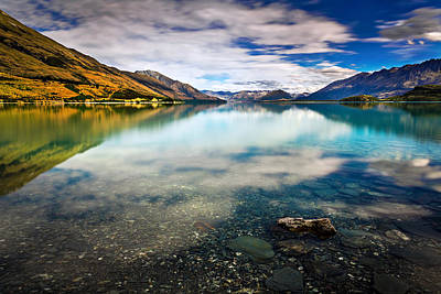 Lake Wakatipu Original by Dr K X Xhori