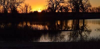 Photograph - 7 Lakes-closesunp by Rae Ann  M Garrett