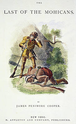 Colonial Man Drawing - Last Of The Mohicans, 1872 by Granger
