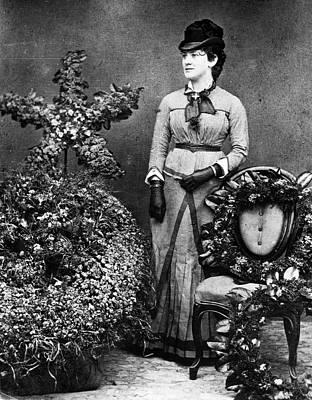 Lillian Nordica (1857-1914) Art Print by Granger