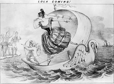 Dolores Painting - Lola Montez (1818?-1861) by Granger