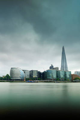 London Skyline Royalty-Free and Rights-Managed Images - London by Songquan Deng