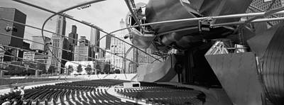 Frank Gehry Photograph - Low Angle View Of Buildings In A City by Panoramic Images