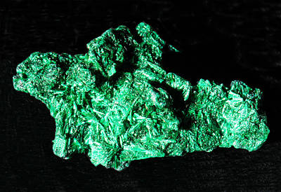 Photograph - Malachite by Millard H. Sharp