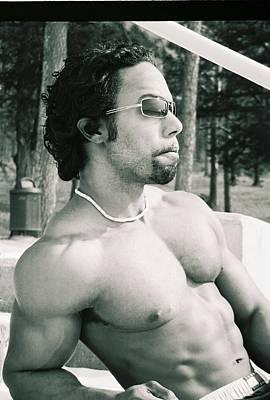 Photograph - Male Muscle by Jake Hartz