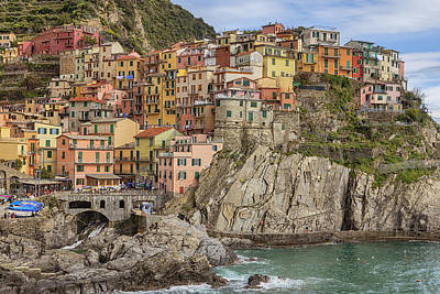 Boat Harbour Wall Art - Photograph - Manarola by Joana Kruse