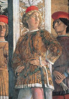 Particular Photograph - Mantegna Andrea, Decoration by Everett