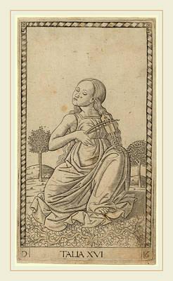 Master Of The E-series Tarocchi Italian Print by Litz Collection
