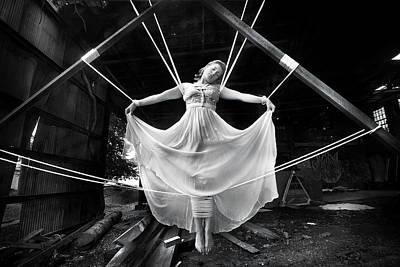 Manipulation Photograph - Melissa by Cory Mcburnett