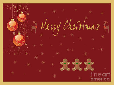 Photograph - Christmas Card 4 by Nina Ficur Feenan
