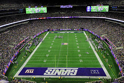 Photograph - Metlife Stadium 5 by Allen Beatty