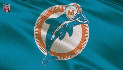 Miami Dolphins Uniform Art Print by Joe Hamilton