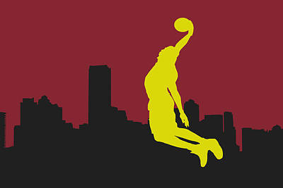 Miami Heat Art Print by Joe Hamilton