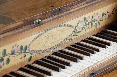 Piano Photograph - Michigan, Wyandotte by Cindy Miller Hopkins