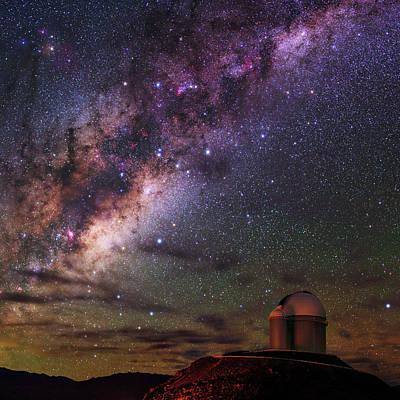 Antares Photograph - Milky Way Over La Silla Observatory by Babak Tafreshi