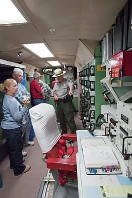 Minuteman Missile Control Room Art Print by Jim West
