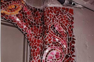 Mosaic Doorway Art Print by Charles Lucas