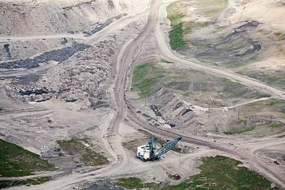 Mountaintop Removal Coal Mining Art Print