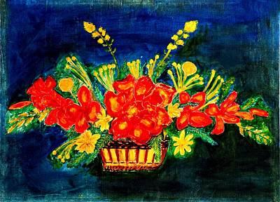 Lake Life - My Flowers by Baljit Chadha