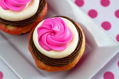 Neapolitan Cupcakes Original by Teri Virbickis