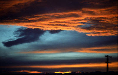 Mural Photograph - Nevada Skies by Frank Romeo