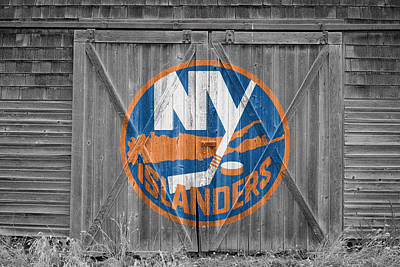 Hockey Photograph - New York Islanders by Joe Hamilton