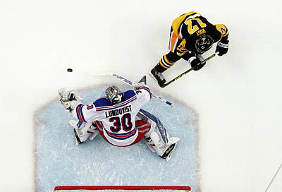 Photograph - New York Rangers V Pittsburgh Penguins by Justin K. Aller