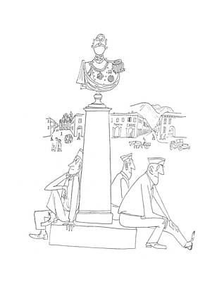 New Yorker July 29th, 1944 Art Print by Saul Steinberg